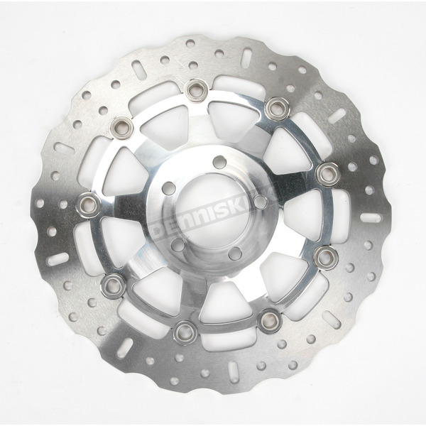 EBC Polished Pro-Lite Contour Brake Rotor - MD4012SCC