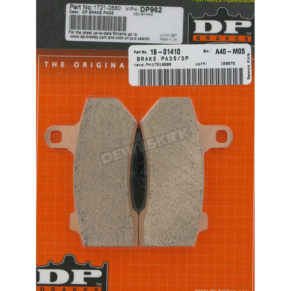 DP Brakes Sintered Metal Brake Pads - DP962