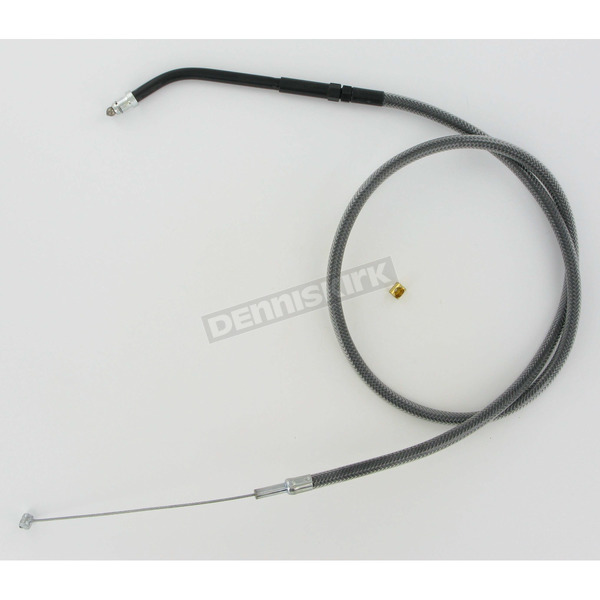 Magnum Black Pearl Designer Series Braided Throttle Cable - 4313