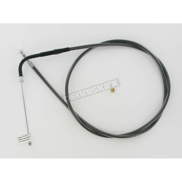Magnum Black Pearl Designer Series Alternative Length Braided Throttle Cable - 433410