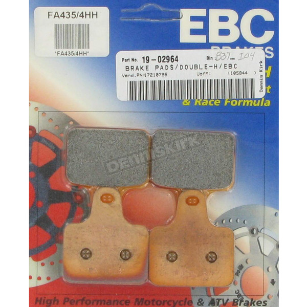 EBC Double-H Sintered Metal Brake Pads - FA435/4HH
