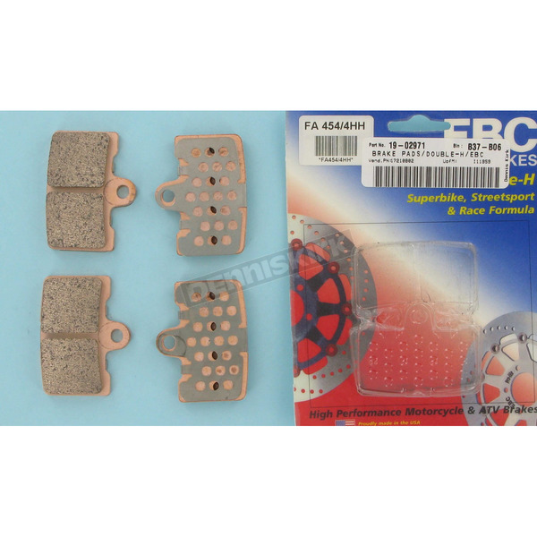 EBC Double-H Sintered Metal Brake Pads - FA454/4HH