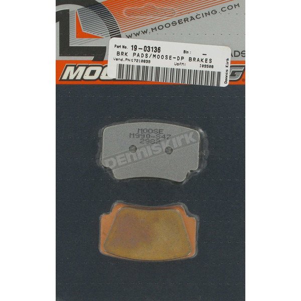 Moose Sintered Metal Brake Pads - 1721-0839
