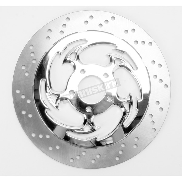 RC Components 13 in. Savage Chrome Floating Rotor - ZSSFLT-85C-F2K