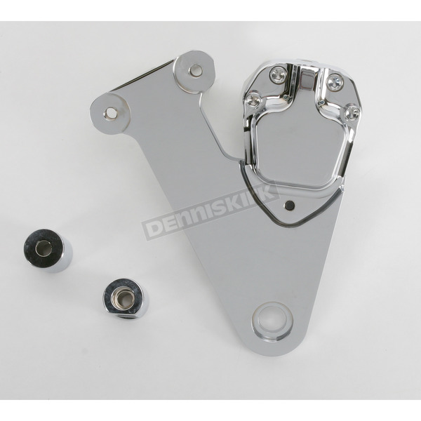GMA Engineering Custom 2-Piston Rear Smooth Chrome Brake Caliper - GMA-205SC