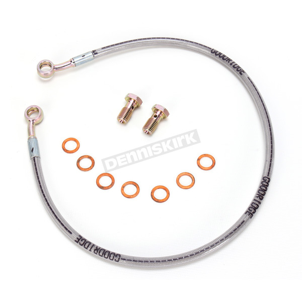 Goodridge Rear Stainless Steel Braided Brake Line Kit - SU2885-1RP
