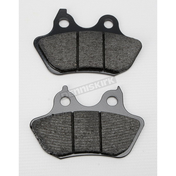 SBS Rear Street Carbon Tech High-Performance Brake Pads - 846HCT