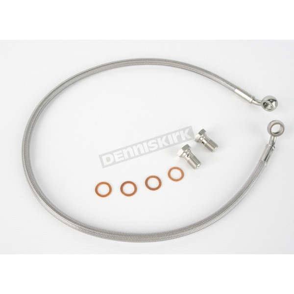 Kuryakyn Stainless Steel Rear Extended Brake Line Kit - 8740