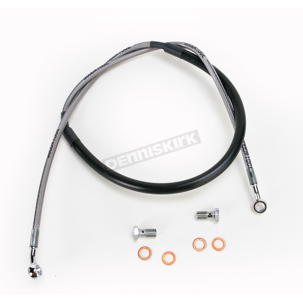 Goodridge Xtreme Stainless Steel Front Brake Line Kit - 61010BK
