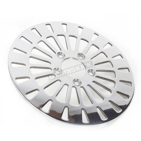 Drag Specialties Rear 11.5 in. Klassic Polished Stainless Steel Brake Rotor - 1710-2024