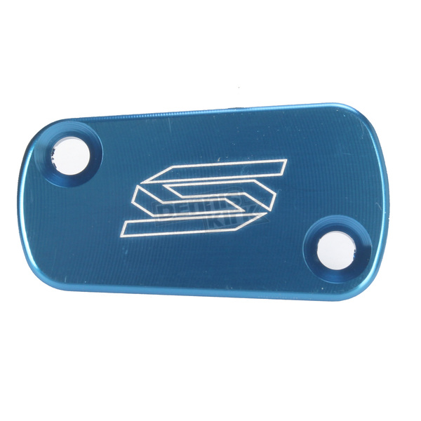 Scar Blue Anodized Rear Brake Reservoir Cover - 3901B