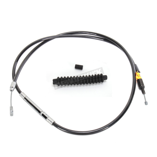 LA Choppers Black Vinyl Coated Clutch Cable for Use w/15 in. to 17 in. Ape Hangers - LA-8005C16B