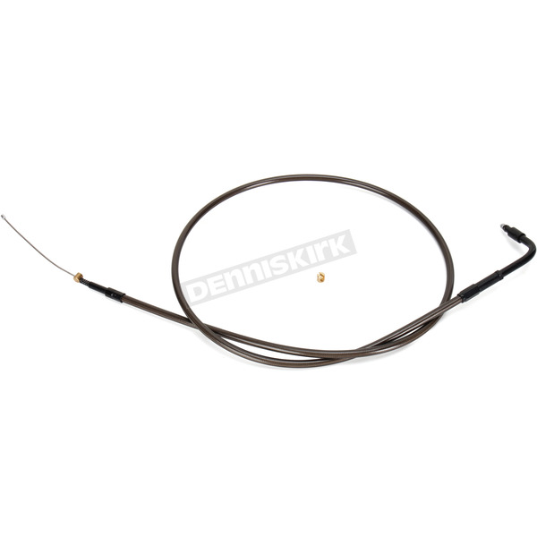 Midnight Stainless Idle Cable for use w/18 in. to 20 in. Ape Hangers (Single Disc) - LA-8320ID19M