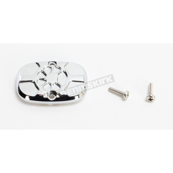 LA Choppers Artistic Chrome Fusion Rear Brake Master Cylinder Cover - LA-F551-00