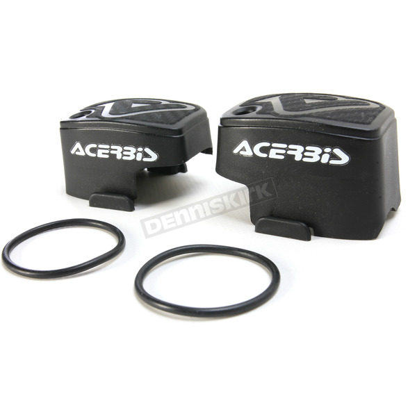 Acerbis Black Master Cylinder Covers - 2449540001