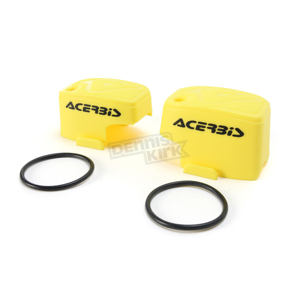 Acerbis Yellow Master Cylinder Covers - 2449540005