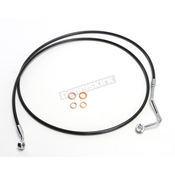 Magnum Black XR Stainless Extreme Response ABS Upper Brake Line Kit - +6