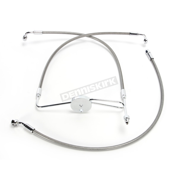 Magnum Natural XR Stainless Extreme Response Front Brake Line Kit - Non ABS +10