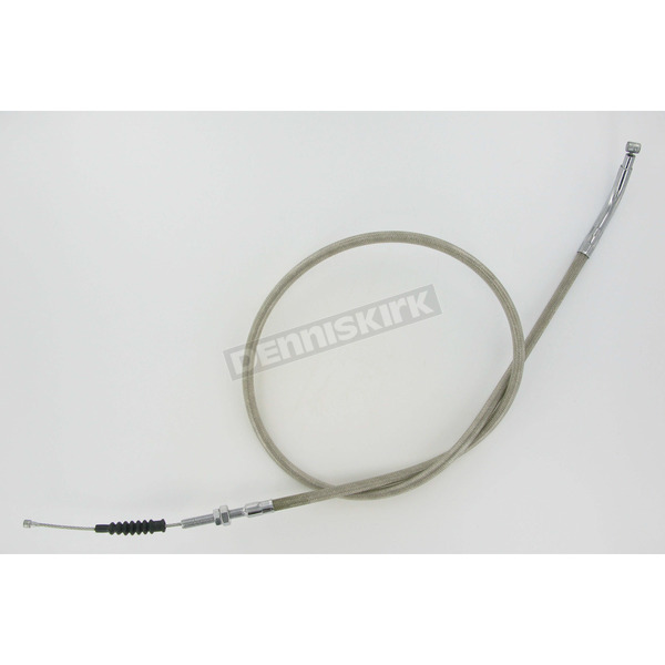 Motion Pro 49 1/4 in. Armor Coat Braided Stainless Steel Clutch Cable - 62-0344
