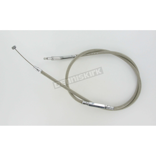 Motion Pro 54 3/4 in. Armor Coat Braided Stainless Steel Clutch Cable - 65-0262