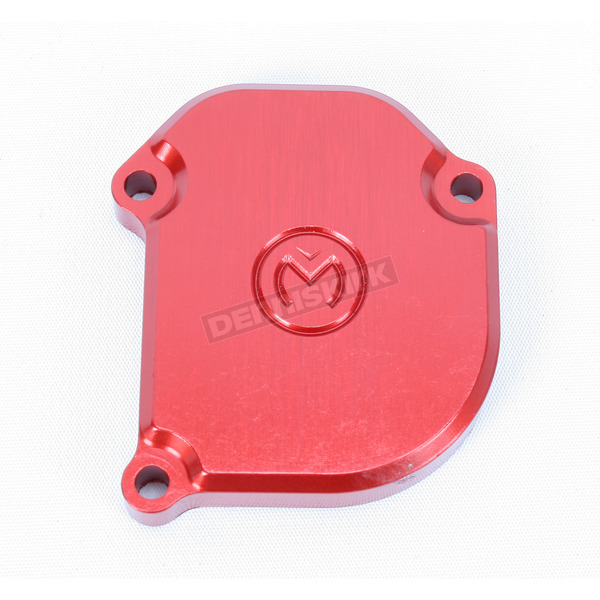 Moose Red Throttle Cover - 0632-0009