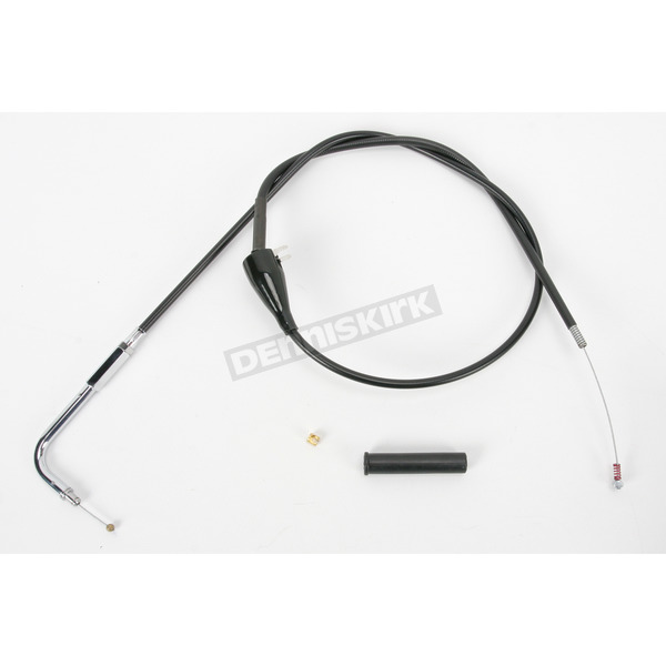 Drag Specialties Black Vinyl Cruise Idle Cable  - 0651-0182