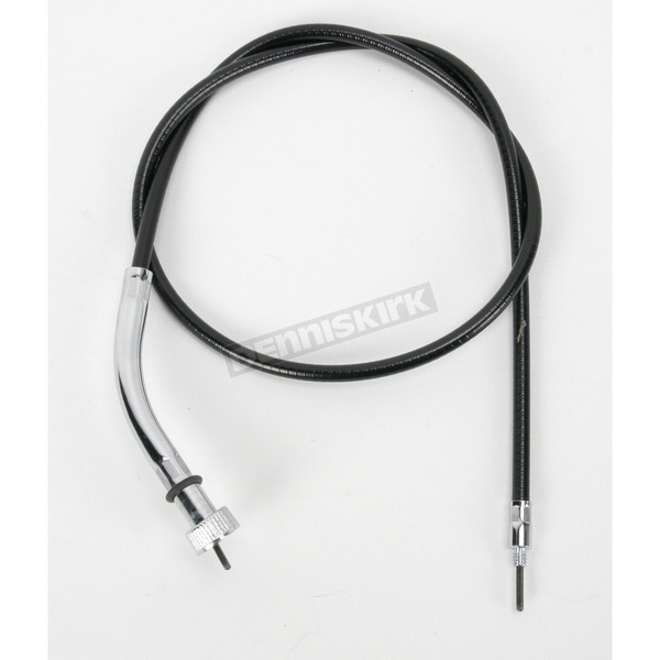 Drag Specialties Black Vinyl Front Wheel Drive Speedometer Cable - 0655-0041