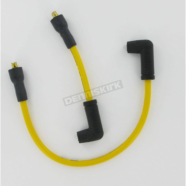 Accel Custom Suppression 8.8mm Yellow Plug Wire Set - 172089