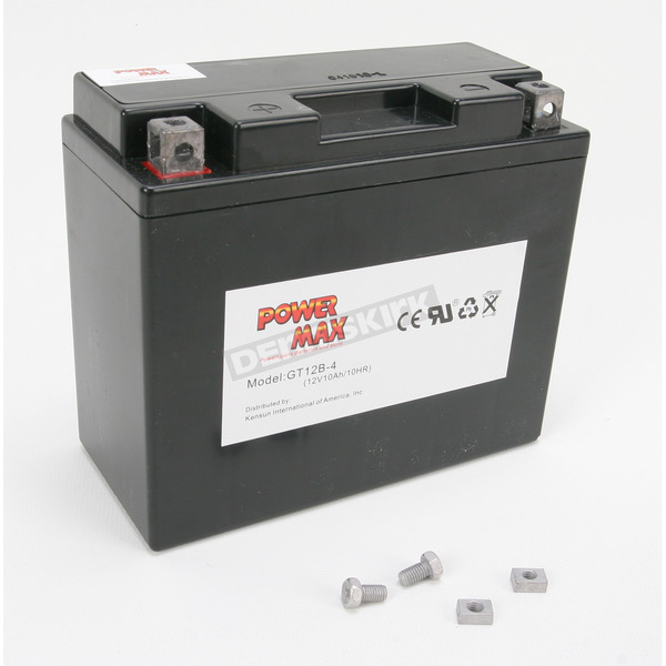 Power Max Maintenance Free Battery - GT12B4