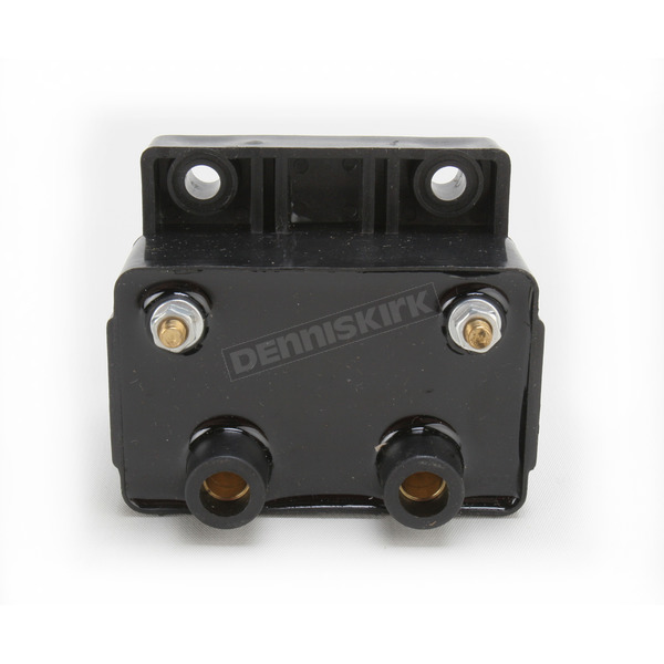 Black High-Power 6-Volt Dual-Fire Ignition Coil - 2102-0212