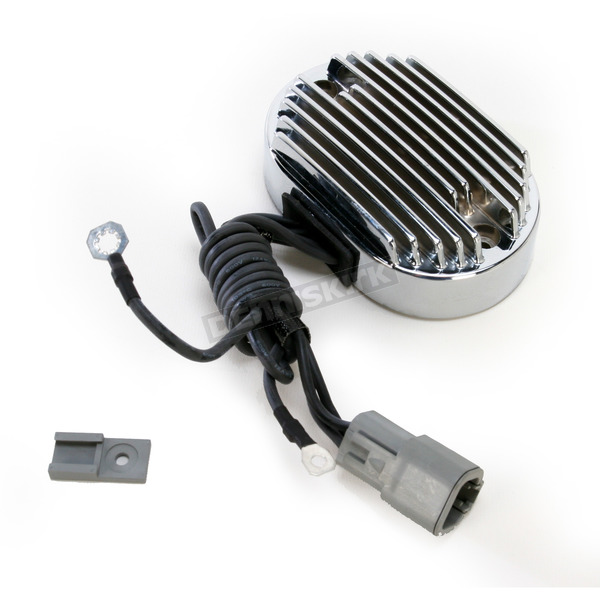 Drag Specialties Chrome Voltage Regulator  - 2112-0803