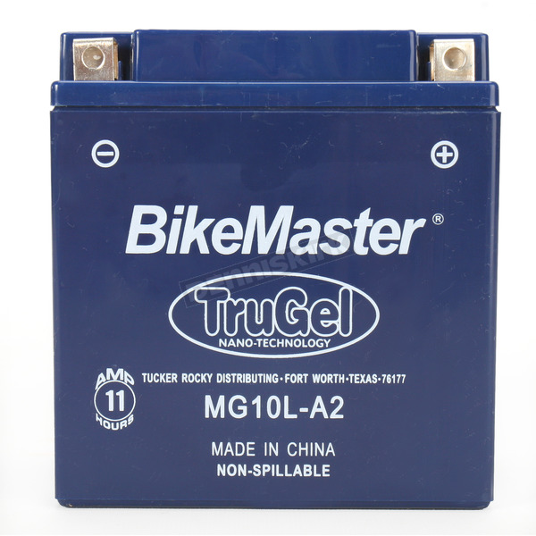 BikeMaster TruGel 12-Volt Battery - MG10L-A2