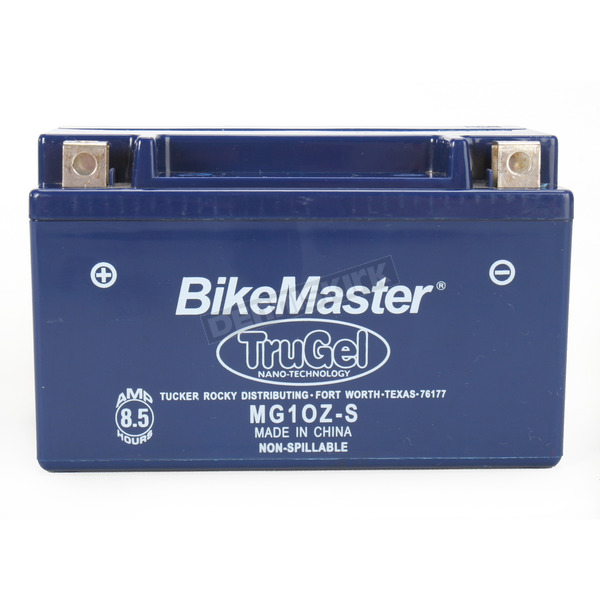 BikeMaster TruGel 12-Volt Battery - MG10Z-S