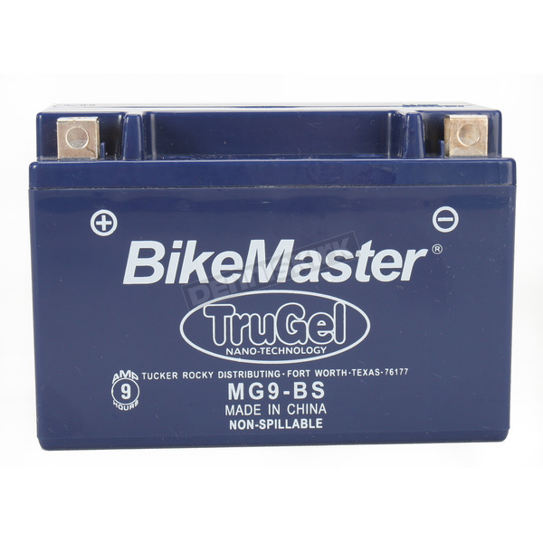 BikeMaster TruGel 12-Volt Battery - MG9-BS