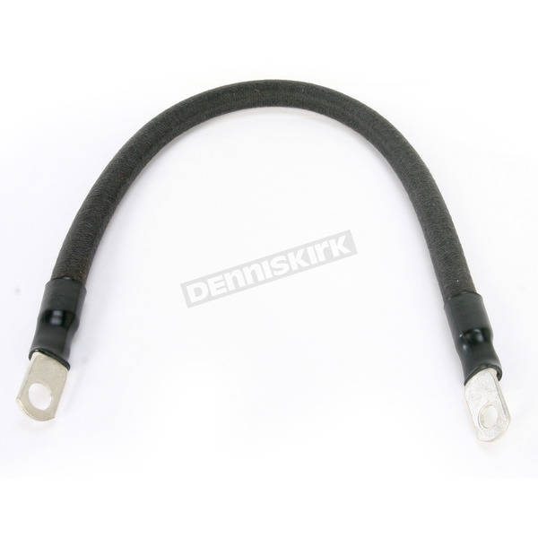 NYC Choppers Black 14 in. Battery Cable - BLACK-14