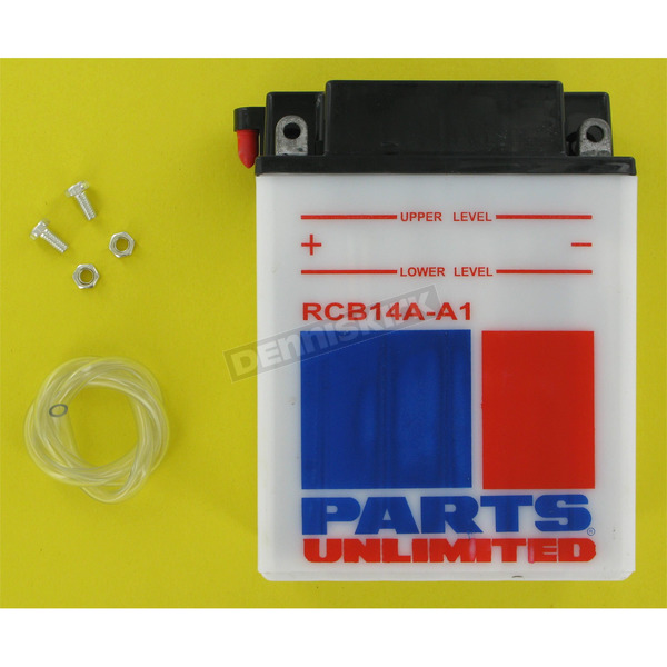 Parts Unlimited Heavy Duty 12-Volt Battery - RCB14AA1