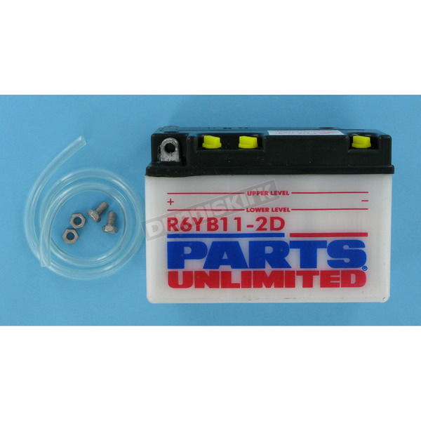 Parts Unlimited Standard 6-Volt Battery - R6YB112D