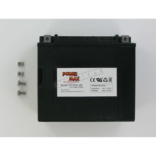 Power Max Maintenance Free Battery - GTX20LBS