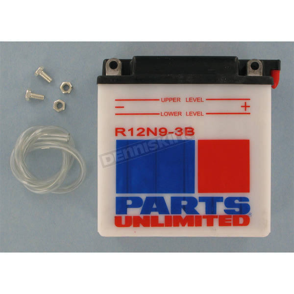 Parts Unlimited Standard 12-Volt Battery - R12N93B