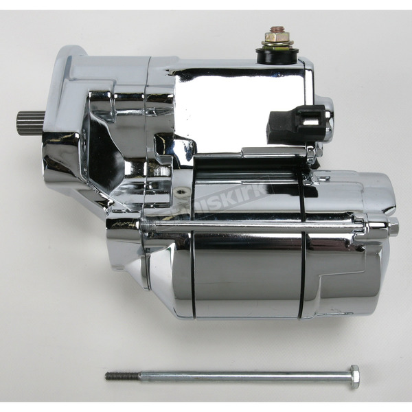 Drag Specialties 1.4 Kilowatt Chrome Starter Motor  - 80-1002