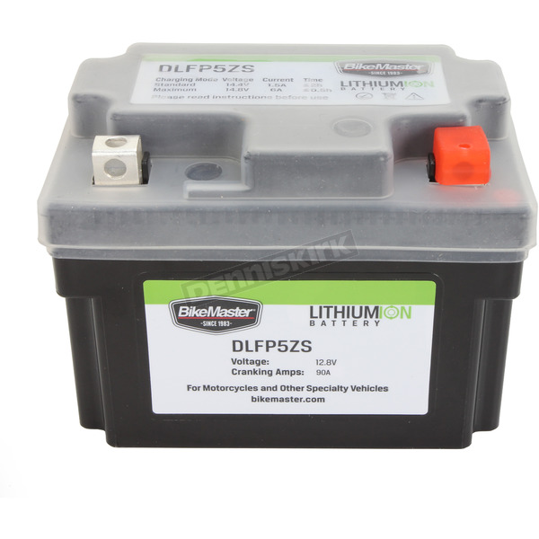 BikeMaster Lithium Ion Battery - DLFP-5ZS