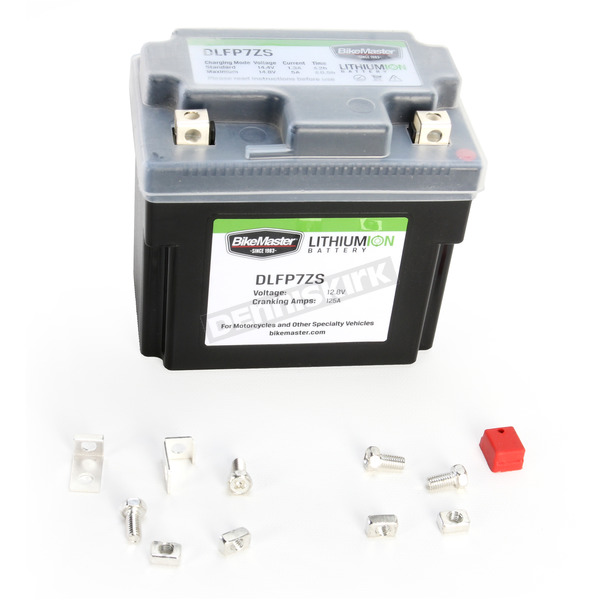 BikeMaster Lithium Ion Battery - DLFP-7ZS