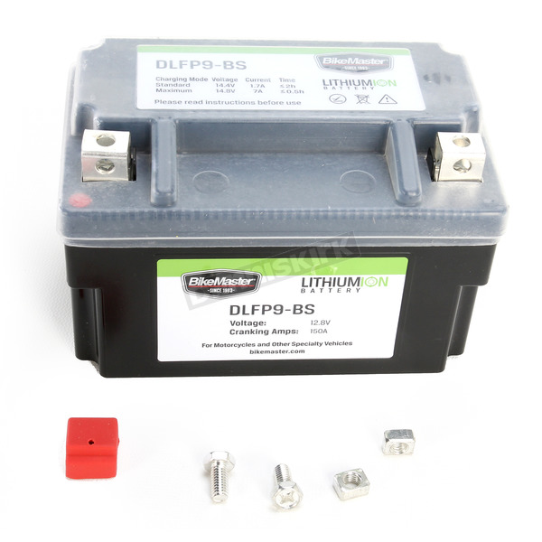 BikeMaster Lithium Ion Battery - DLFP-9-BS