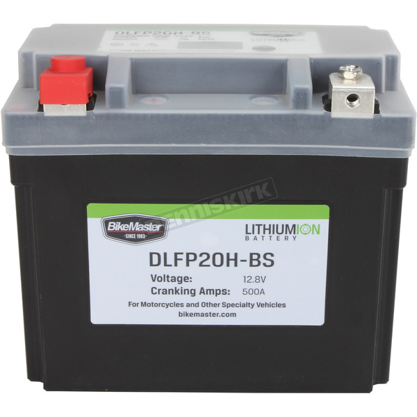 BikeMaster Lithium Ion Battery - DLFP-20H-BS