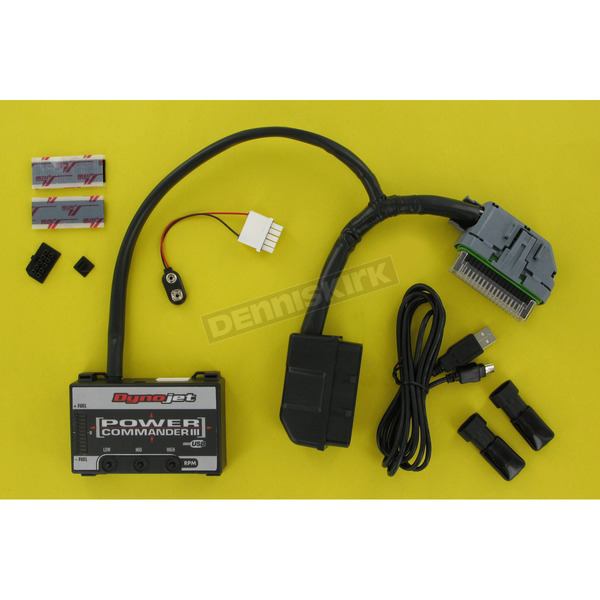 Dynojet Power Commander III USB w/Oxygen Sensor Eliminators - 817511