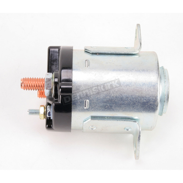 Accel Late Zinc-Plated Dual Bracket Solenoid - 40114
