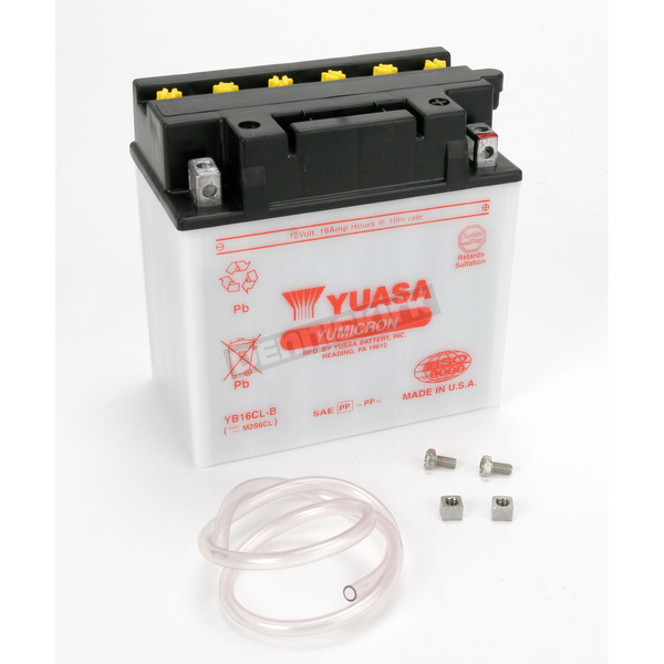 Yuasa Yumicron High Powered 12-Volt Battery - YB16CL-B