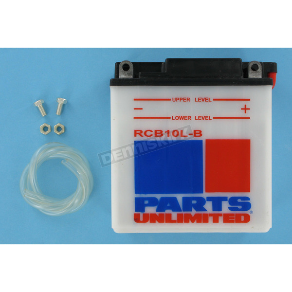 Parts Unlimited Heavy Duty 12-Volt Battery - RCB10LB