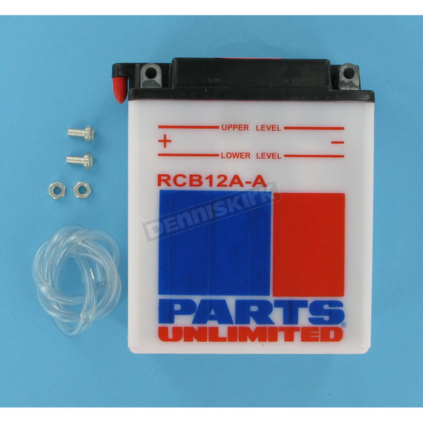 Parts Unlimited Heavy Duty 12-Volt Battery - RCB12AA