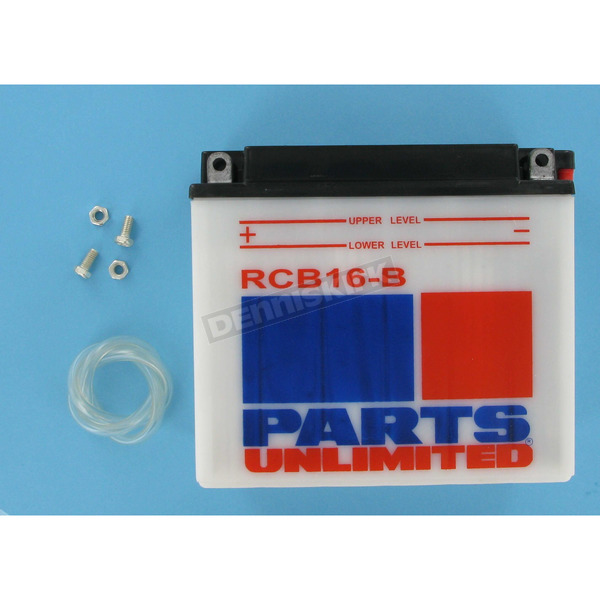 Parts Unlimited Heavy Duty 12-Volt Battery - RCB16B